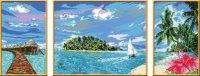 """Раскрашивание по номерам """"тропический остров"""", Ravensburger"""