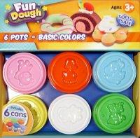 Набор пластилина: 6 банок, Toy Target