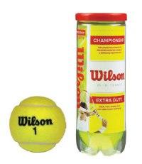 Мячи теннисные championship extra duty (3 штуки), Wilson