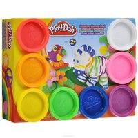 """Набор пластилина """"play-doh"""", 8 банок, Hasbro (Хасбро)"""