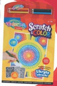 """Набор для детского творчества """"поцарапать и раскрасить"""", Colorino"""