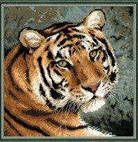 "Набор для вышивания ""амурский тигр"", Сотвори Сама"