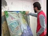 Курский студент-сириец рисует войну.