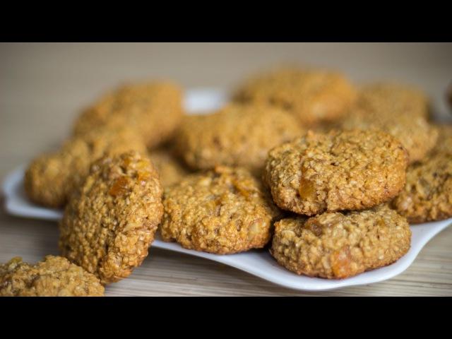 Постное ОВСЯНОЕ ПЕЧЕНЬЕ Vegetarian Oatmeal Cookies