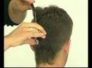 Современная мужская стрижка. Modern men's haircut