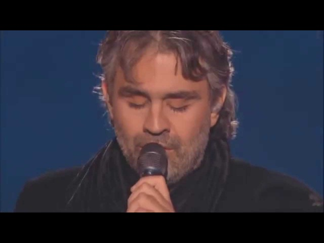 Андреа Бочелли — «Осенние листья» — Andrea Bocelli — «Les feuilles mortes» — «Autumn Leaves»