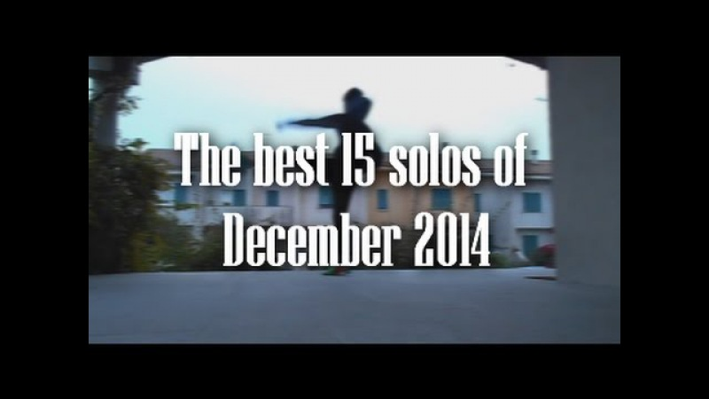 THE BEST 15 SOLOS OF DECEMBER 2014! Jumpstyle