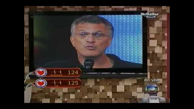 BBB 10 - 23/03/2010: Lia x Anamara (Eliminação de Maroca - 57% dos votos)