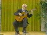 Rare Guitar Video Andreas Segovia plays Guardame Las Vacas by Luis de Narvaez