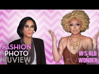 RuPaul's Drag Race Fashion Photo RuView w/ Raven & Raja – Michelle Visage Celebrity Big Brother