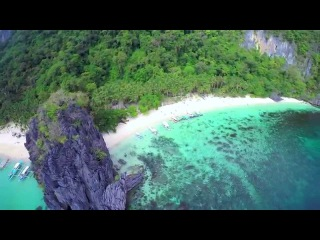 Palawan From the Air - Island Hopping in El Nido with a Drone