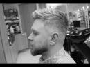 мужская стрижка и дизайн бороды от HOOLiGANZ (смотреть до конца!)