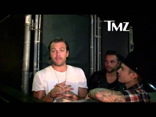 Justin Bieber, Joe Termini & Joel Houston outside of a nightclub in Los Angeles, CA - June 27, 2015