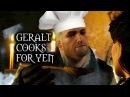 The Witcher 3: Wild Hunt - Geralt cooks for Yennefer (Deleted Kaer Morhen scene)