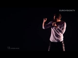 Mans Zelmerlow - Heroes (Sweden) - LIVE at Eurovision 2015_ Semi-Final 2