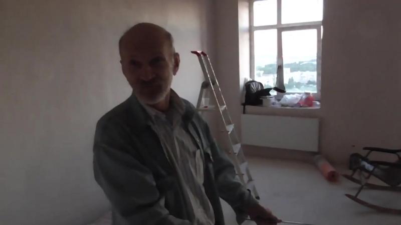 Геопатоген в квартире ,трассировка сети Хартмана и сети Курри на 23 этаже ч1. 2-08-2015