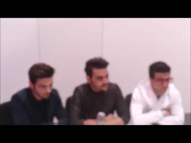 Eurofestival News intervista Il Volo a Vienna per l'Eurovision 2015