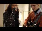 Александр Анисимов и Аэросмит Steven Tyler (Aerosmith) sang with street musician MoscowСтивен Тайлер в Москве спел на улице