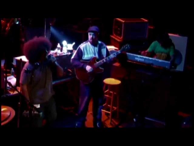 SOULIVE feat. Reggie Watts - 30 min. LIVE Set @ Bowery Ballroom - New York City 2/27/2004