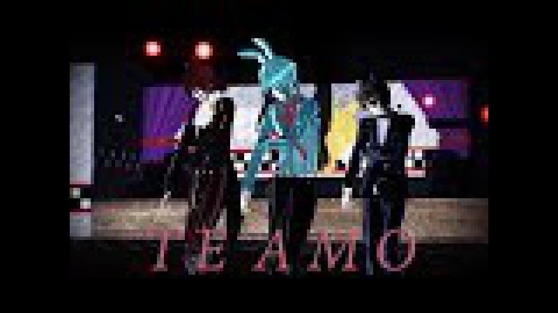 【 MMD 】~Te Amo~ 【 FNAF 】【 Foxy/Bonnie/Freddy 】