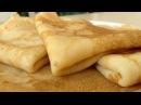 Обалденные Домашние Блины Блинчики Вкусно и Быстро Tasty Crepes Recipe ENGLISH SUBTITLES