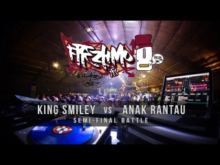 King Smiley vs Anak Rantau / Frezh Motionz 8th Anniversary Jam / SEMI FINAL [#BD_VIDEO]