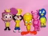 LOONEY TUNES NICKYLODEON ODD PARENTSTWEETY, SILVESTER,FRAJOLA,PIUPIU unboxing plastic toys