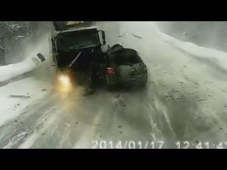 Смертельная авария из пяти машин на трассе М5