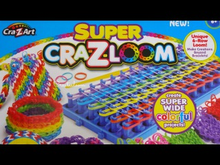 Super Cra-Z-Loom Opening and Review!