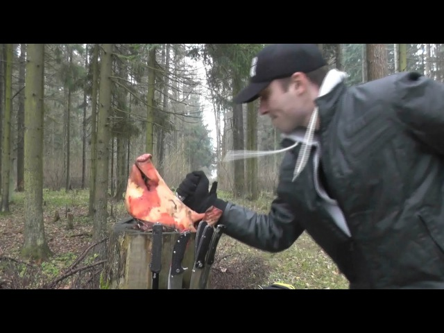 Тест типичных EDC-ножей на пригодность к самообороне.
