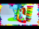 Лепим из пластилина Плеи до Радугу Дэш Play Doh Rainbow Dash My Little Pony Мои Маленькии Пони