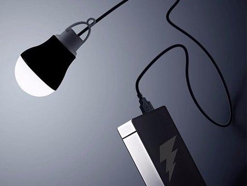 Мобильная USB-лампа для