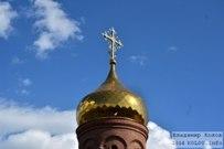 08 июня 2014 - Тольятти: Установка купола на Венчальный храм