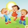 Счастлива с детьми