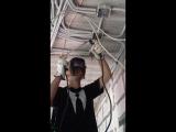 Сварка скруток при монтаже электропроводки специалистом компании
