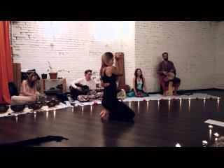 Anna Trish Dance impro with AtmanLove & Veda Ram