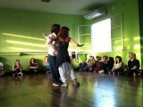 Cecilia Garcia y Serkan Gokcesu - performance at DNI - 09.25.10
