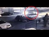 (18+) Кадры момента убийства Бориса Немцова 27.02.2015