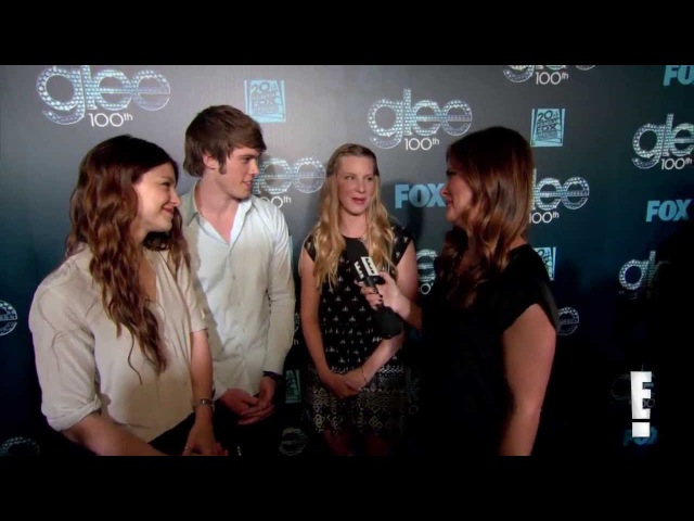 Heather Morris, Blake Jenner and Melissa Benoist Talk Glee (glee 100 celebrate)