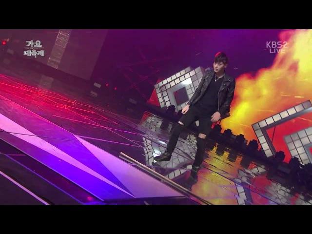 1080p 141226 EXO Sehun,TAO Infinite It's You Metal Dance battle @ KBS Gayo Daechukje
