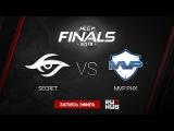 Team Secret  vs MVP Phoenix    MLG LAN FINALS Game 2 by GodHunt & Goblack