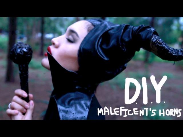 DIY Maleficent's horns (English subtitles) l Susy SAI