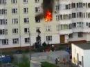 Таджикский спайдермен спас русского ребенка из горящей квартиры ВИДЕО