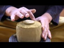 How to make a raku chawan / Comment créer un bol raku / 楽茶碗製作過程