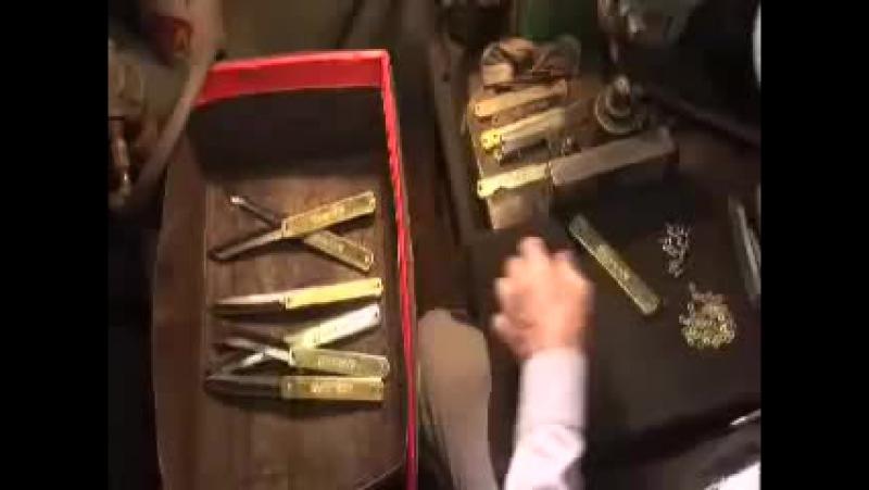 Презентация ножей Higonokami японского мастера Motosuke Nagao