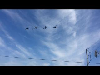 авиационная часть парада 9 мая #9мая#великаяпобеда#деньпобеды