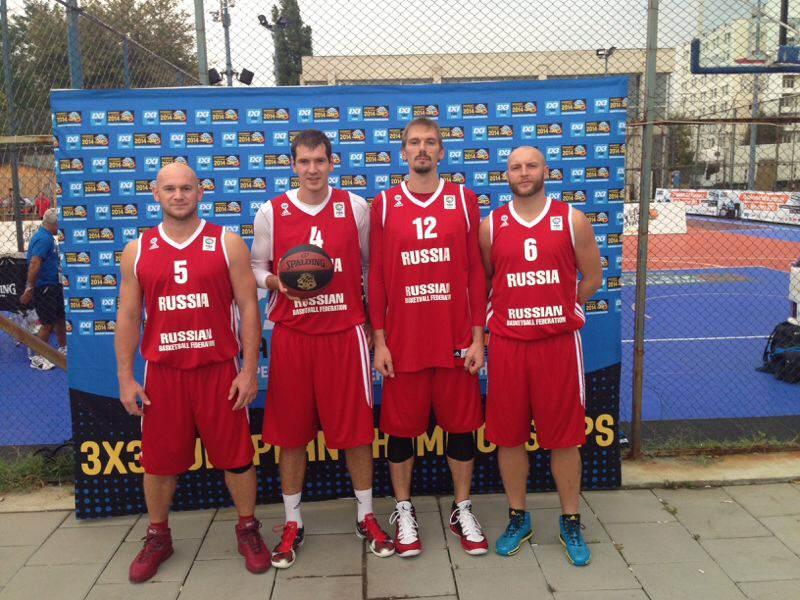 Мужская сборная России по баскетболу 3х3
