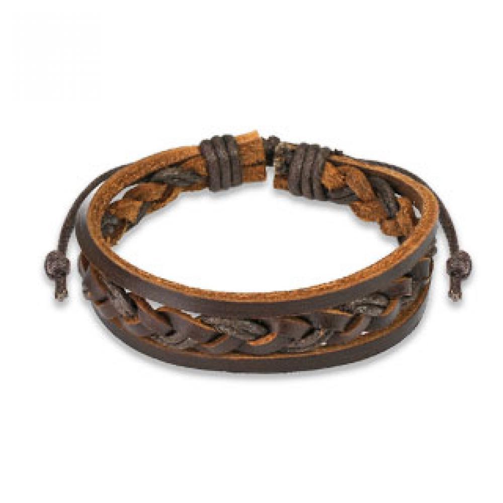 Кожаный браслет для мужчин своими руками