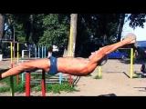 Дед-атлет отжигает на площадке(71 years Оld man ghetto workout training) Жесть, юмор, прикол, ржака, смотреть до конца!