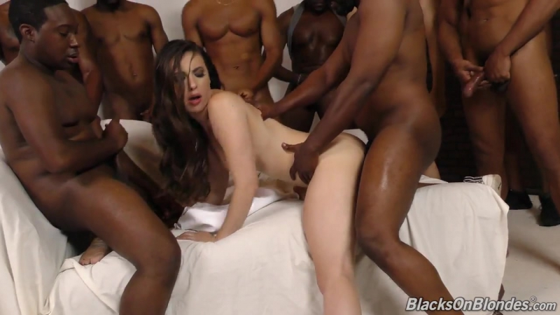 porno gang bang sex halle